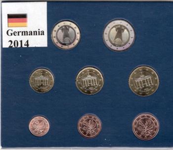 Serie Germania 2014  (una delle 5 zecche)