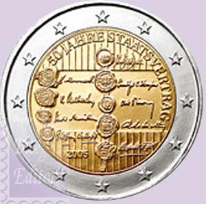 Monete Euro 2 Euro Commemorativi 2005