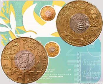 5 euro Bimetallico Coincard San Marino 2016 - Chiusura Anno Santo