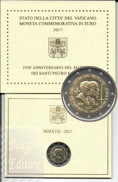 Monete Euro 2 Euro Commemorativi Vaticano 2 Euro Vatikan Münzen