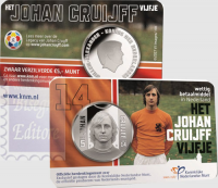 OLANDA 5 EURO COINCARD 2017 - 70°ANNIV. JOHAN CRUIJFF