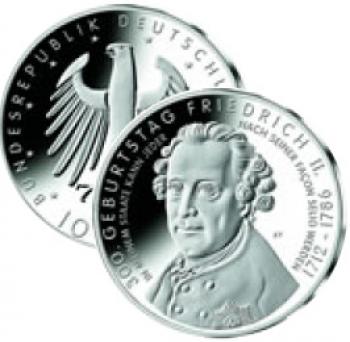 10 euro Germania 2012- 300° Ann. Nascita Federico II
