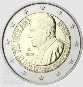 Monete Euro Monete Euro Vaticano Vatikan Euro Münzen