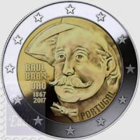 PORTOGALLO 2 EURO 2017 - 150 ANNI RAUL BRANDAO