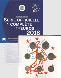 2018 - FRANCIA DIVISIONALE 2018 - SERIE UFFICIALE FDC