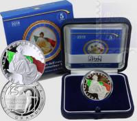 2018 - 5 EURO ARGENTO ITALIA 2018 - 70° ANNIV. COSTITUZIONE ITALIANA