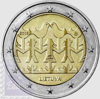 2 EURO LITUANIA 2018 - 100 FESTIVAL DELLA CANZONE E DELLA DANZA LITUANA