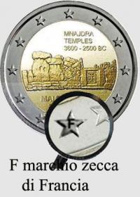 2 EURO MALTA 2018 - TEMPLI DI MNAJDRA