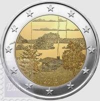 2 EURO FINLANDIA 2018 - CULTURA DELLA SAUNA FINLANDESE