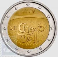 2 EURO IRLANDA 2019 - 100° ANN. PARLAMENTO IRLANDESE