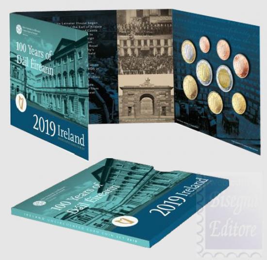 IRLANDA DIVISIONALE 2019 - 100 ANNI DEL PRIMO PARLAMENTO IRLANDESE