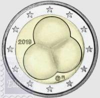 2 EURO FINLANDIA 2019 - 100 ANNI DELLA COSTITUZIONE