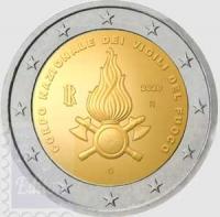 2 EURO COMMEMORATIVO ITALIA 2020 - CORPO NAZIONALE DEI VIGILI DEL FUOCO