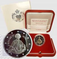 2 euro Monaco 2020 Proof - 300° anniversario nascita Honore' III