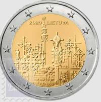 2 euro Lituania 2020 - Collina delle croci