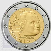2 euro Finlandia 2020 - Centenario della nascita di Vaino Linna