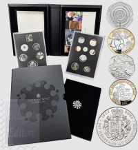 Confezione Proof In Cofanetto E Certificato -Serie Divisionale Gran Bretagna 2021 - 95° Compleanno S.A.R. Elisabetta II