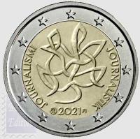 2 euro Finlandia 2021 - Giornalismo e libera comunicazione