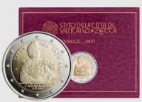 2 euro Vaticano 2021 - 450° Anniversario della nascita di Caravaggio