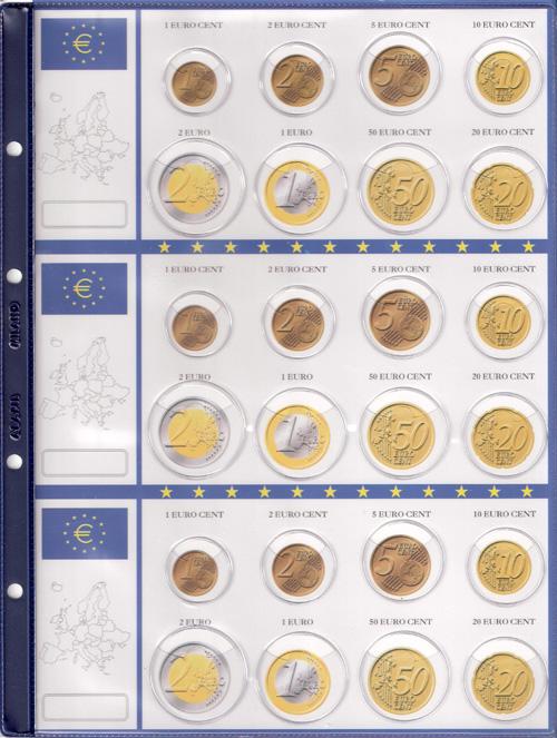 abb1582c68 Monete Euro - (A)Pagine raccoglitrici generiche serie euro complete