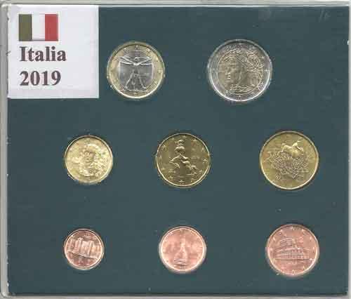 ce199ee33e Monete Euro - Serie Italia 2019
