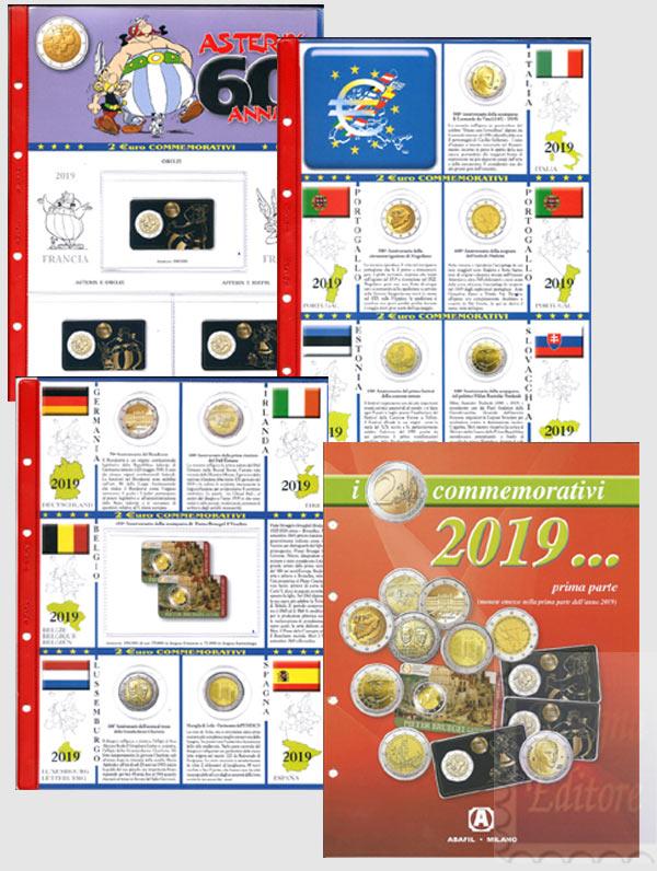 4e877cef91 Monete Euro - (A) Pagine raccoglitrici 2 euro commemorativi - Prima ...