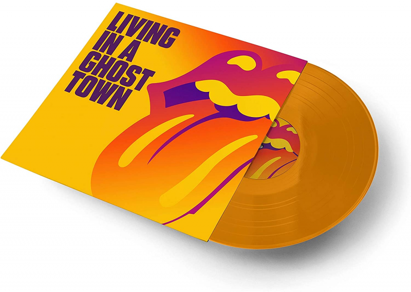 ROLLING STONES- LIVING IN A GHOST TOWN VINILE COLORATO LP