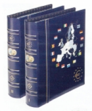 341.040-041 - Album + Custodia 24 Paesi Eurozona Monete Euro - Volume 1+ 2