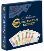 (A) Album Paper Money - Cartamoneta in euro da 5 € a 500 € + nuovo 50 €
