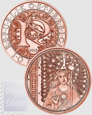 2018 - 10 euro Austria 2018 - Messaggeri Celesti - Raphael - Angelo Guaritore
